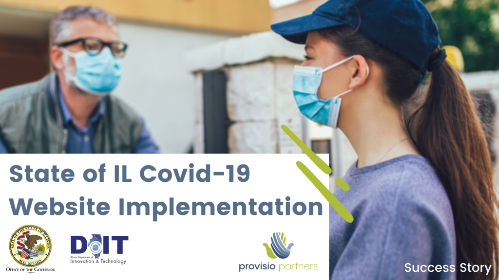 State of IL COVID-19 Response Website Implementation